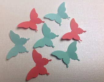 50 pc Large Paper Butterflies New Baby Shower  Bridal Shower  Wedding