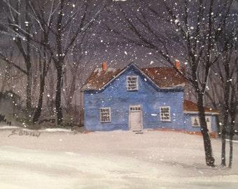 Barn, Leona Youngblood's Farm House