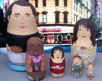 Pushing Daisies Nesting Dolls