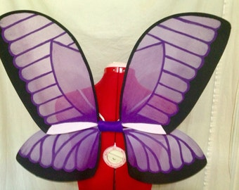 Purple Morpho Fairy Wings