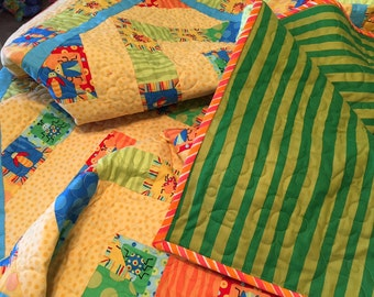 Childs, Twin, Toddler Bed, Quilt, Comforter, Blanket