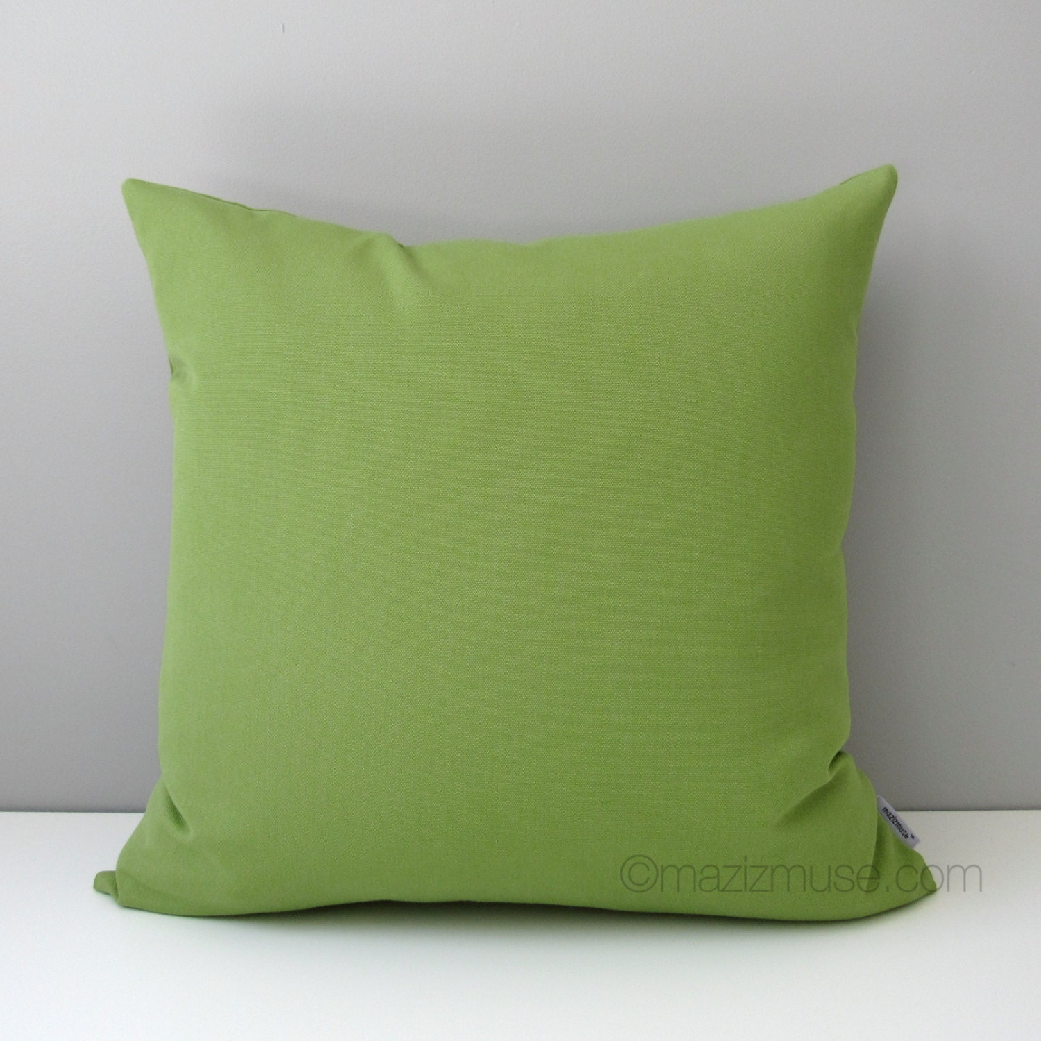 Green Outdoor Pillow Cover Modern Pillow Cover Decorative