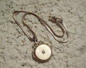 Old Vintage victorian watch fob, looks like locket but does not open