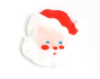 Santa Cupcake Topper, Santa Sugar Decoration, Christmas Sugar Decoration, Holiday Toppers (6)