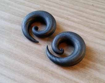 Mini Spiral Plugs Gauges - Custom - Pick Your Color