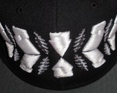 Fitted Flat-Brim Hat - As Above So Below