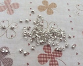 500pcs of Silver Color Plated Ball Chain Connector Size 1.5 mm