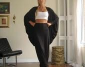 Womens Plus Size Long Loose Pants Maxi Drop Crotch Depth Urban Wide Leg Trousers Yoga (More Colours) XL - XXL Light Weight Rayon/Spandex