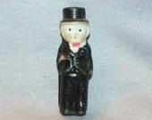 Vintage / Bisque / Doll / Groom / Wedding / Cake / Topper / Frozen Charlotte /  Penny Doll /  Vintage Dolls