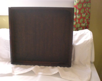 printers tray  from the thirties  great for shadow box or small chalk boards  or making into mirror