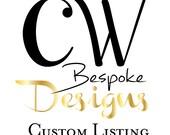 Custom Listing for Jackie - Antigua Guatemala 2.20.16
