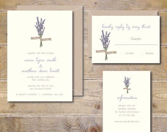 Wedding Invitations, Lavendar, Flowers, Outdoor Weddings, Invites, Wedding Invitations, Rustic Wedding Invitations, Affordable Wedding