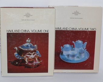Haviland China A Pattern Identification Guide By Gertrude Tatnall Jacobson Volumes One And Two 1979