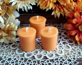 6 Thanksgiving Harvest, Soy Votives, Fall Votives