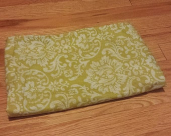 Beautiful green floral curtain/valance