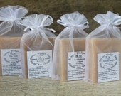 4 Bars Handcrafted Donkey Milk Soap Made in Maine Anti Aging Skin Care Great For Face And Body , Bath and Beauty Soap, Moisturizing  Soap