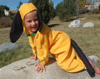 Yellow Dog Costume for Infants, Toddlers & Child