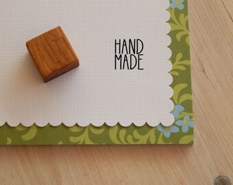 Mini HANDMADE Olive Wood Stamp