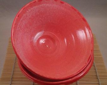 Bowls - Set of 2 Noodle. RIce, Soup, Cereal or Macha Tea Bowls