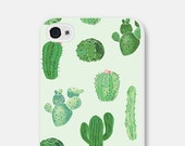 iPhone 6 Case Cactus iPhone 6 Case Mint iPhone 5 Case iPhone 6 Plus Case iPhone 5c Case iPhone Cover Samsung Galaxy S5 Case S6 Case
