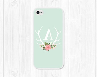 Samsung Galaxy S5 Case Mom Mothers Day Gift Monogram iPhone SE Case iPhone 6 Case Floral Personalized iPhone 5c Case Floral iPhone 5s Case