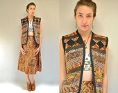 Batik Vest  //  Folk Skirt  //  BOHEMIAN PRINCESS
