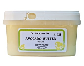 3 LB Avocado Butter Organic Cold Pressed Raw
