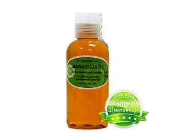 2 oz Maracuja oil 100% pure organic Passionfruit oil Cold Pressed