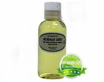 4 oz Borage Oil Pure Organic Cold Pressed