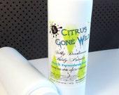 MENS BODY POWDER - deodorant 8 oz  - pick a scent - natural skin care - no talc no cornstarch