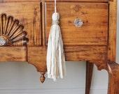 Rustic Fabric Tassel