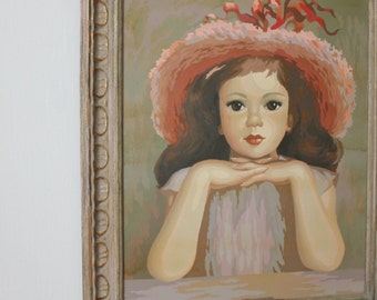Little Girl Paint By Number
