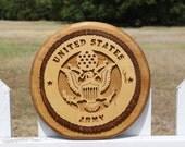 Army seal military emblem