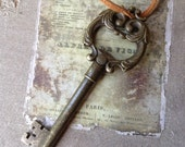 Steampunk Vintage Style Skeleton Key Bottle Opener Wedding Favor