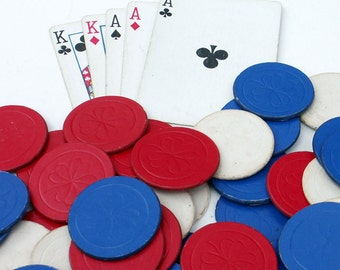 Paper Poker Chips