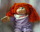 Cabbage Patch Kid Doll Vintage Collectible Xavier Roberts 1986 Authentic Signed