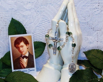 Unbreakable Chaplet of St. Dominic Savio - Patron Saint of Boys, Choirs and Juvenile Delinquents