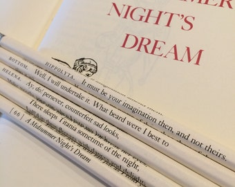 Midsummer Night's Dream Wrapped Pencil Set