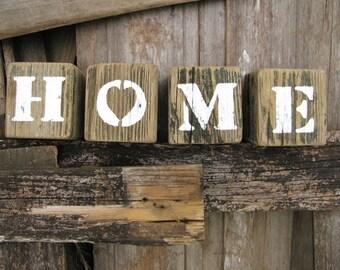 Block Letter Home Decor Etsy
