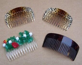 Decorative Hair Combs 4 Retro Hair Accessories Hair Jewelry Headdress Headpiece Hair Ornament