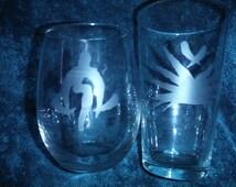 Werewolf the Apocalypse Tribal and Auspice Glass