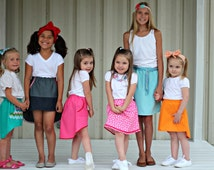 Orbit Skirt - 12m-12yrs -  Girls - PDF Pattern - By LittleKiwisCloset