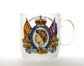 RESERVED for Lacey - Queen Elizabeth II Coronation Mug