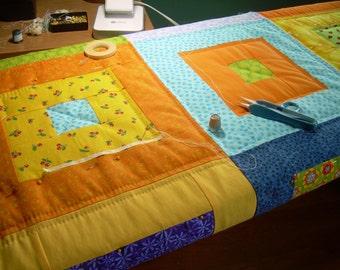 Modern Quilt Full of Squares