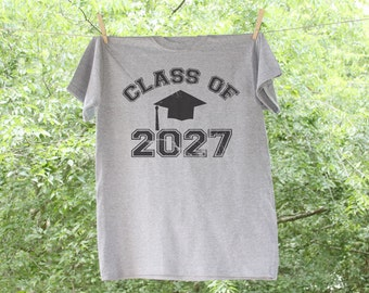 Class Of //Back to Schoo// Adult Yearly Picture Grow Into Me Shirt -  A4