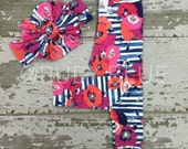 Poppy Lane Messy Bow Headwrap