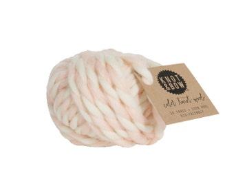 Blush Color Twist Wool / 10 Yards