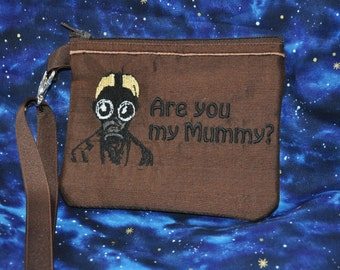 Are You My Mummy Doctor Who inspired Wallet Wristlet