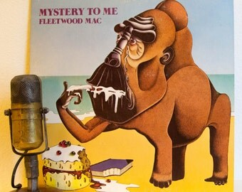 """ON SALE Fleetwood Mac (with Bob Welch on vocals) Vinyl Record Album 1970s British Classic Rock """"Mystery To Me"""" (1977 Reprise w/""""Hypnotized"""")"""