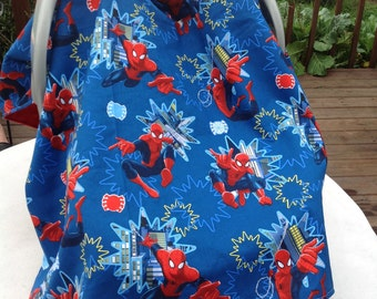 Spiderman Inspired Infant Seat Canopy/Car Seat/Tent Cover & Car seat tent | Etsy